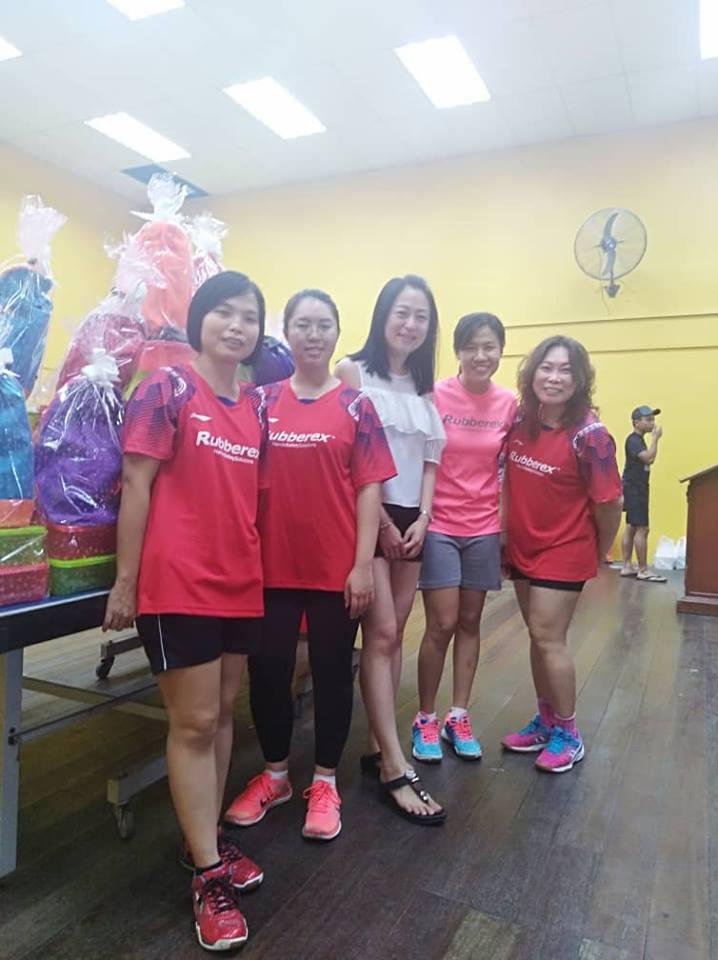 Rubberex badminton tournament 2018